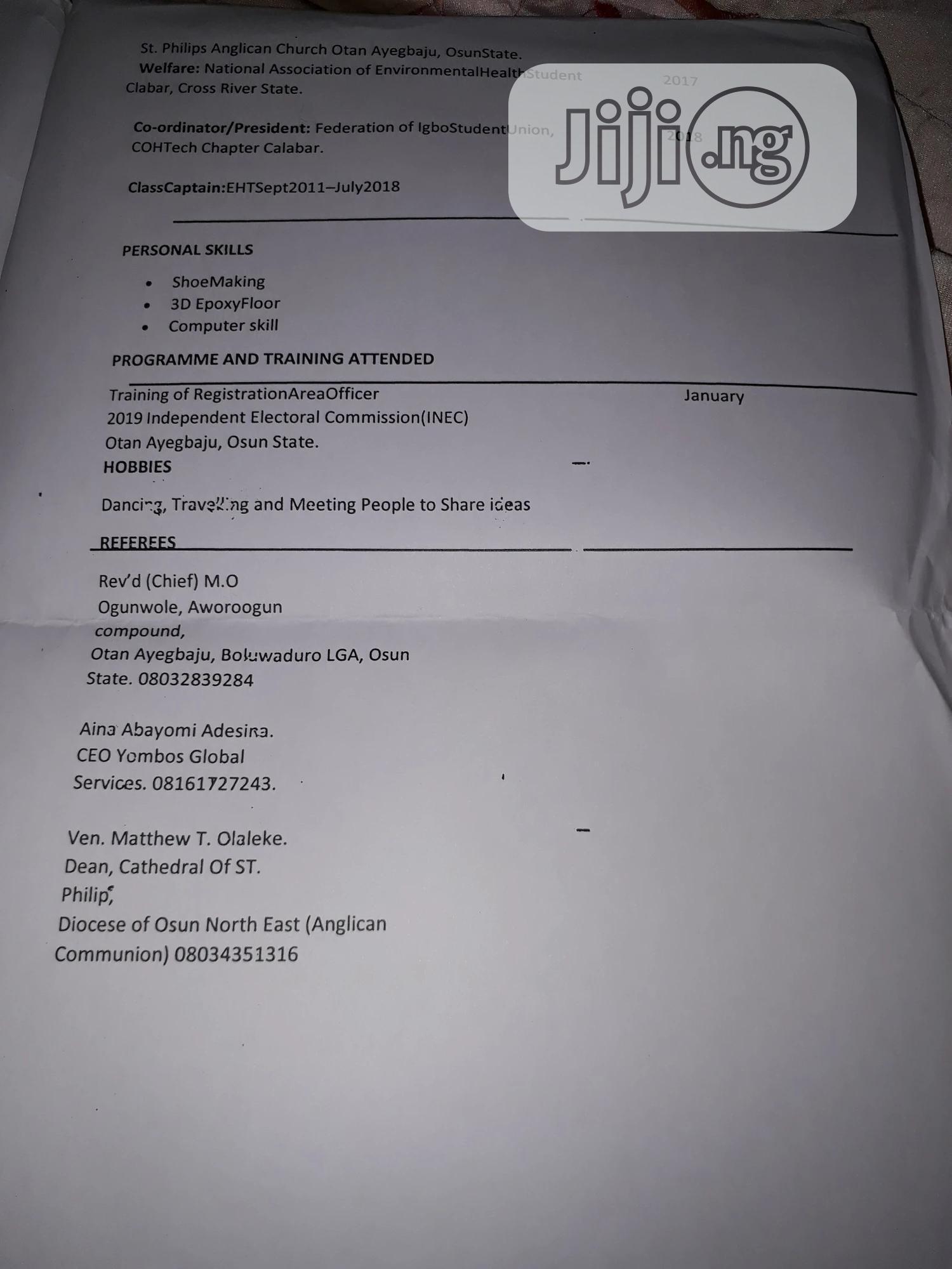 Sales Agent | Sales & Telemarketing CVs for sale in Ifako-Ijaiye, Lagos State, Nigeria