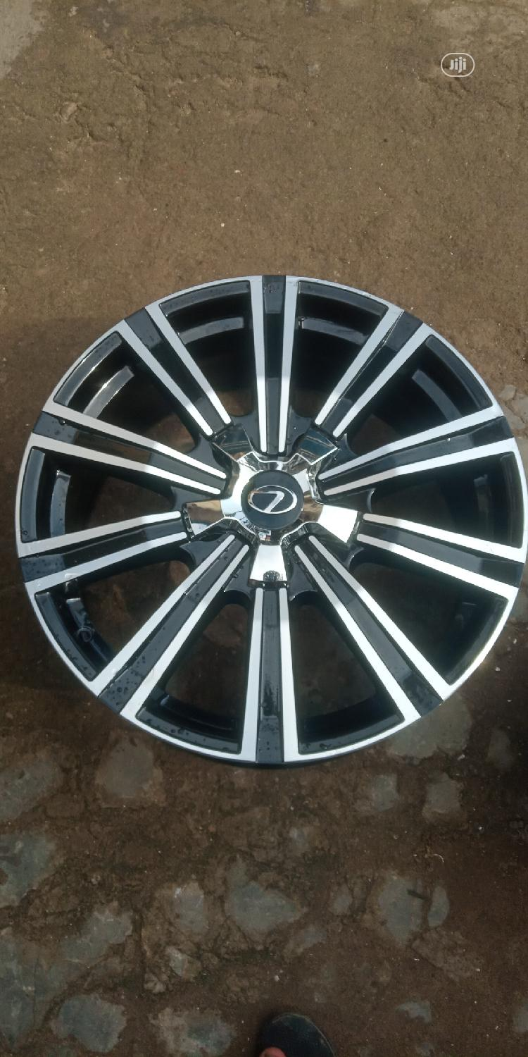 20 Rim For GX 570 | Vehicle Parts & Accessories for sale in Mushin, Lagos State, Nigeria