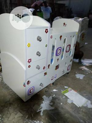 Character Baby Cot And Drawer | Children's Furniture for sale in Lagos State, Oshodi