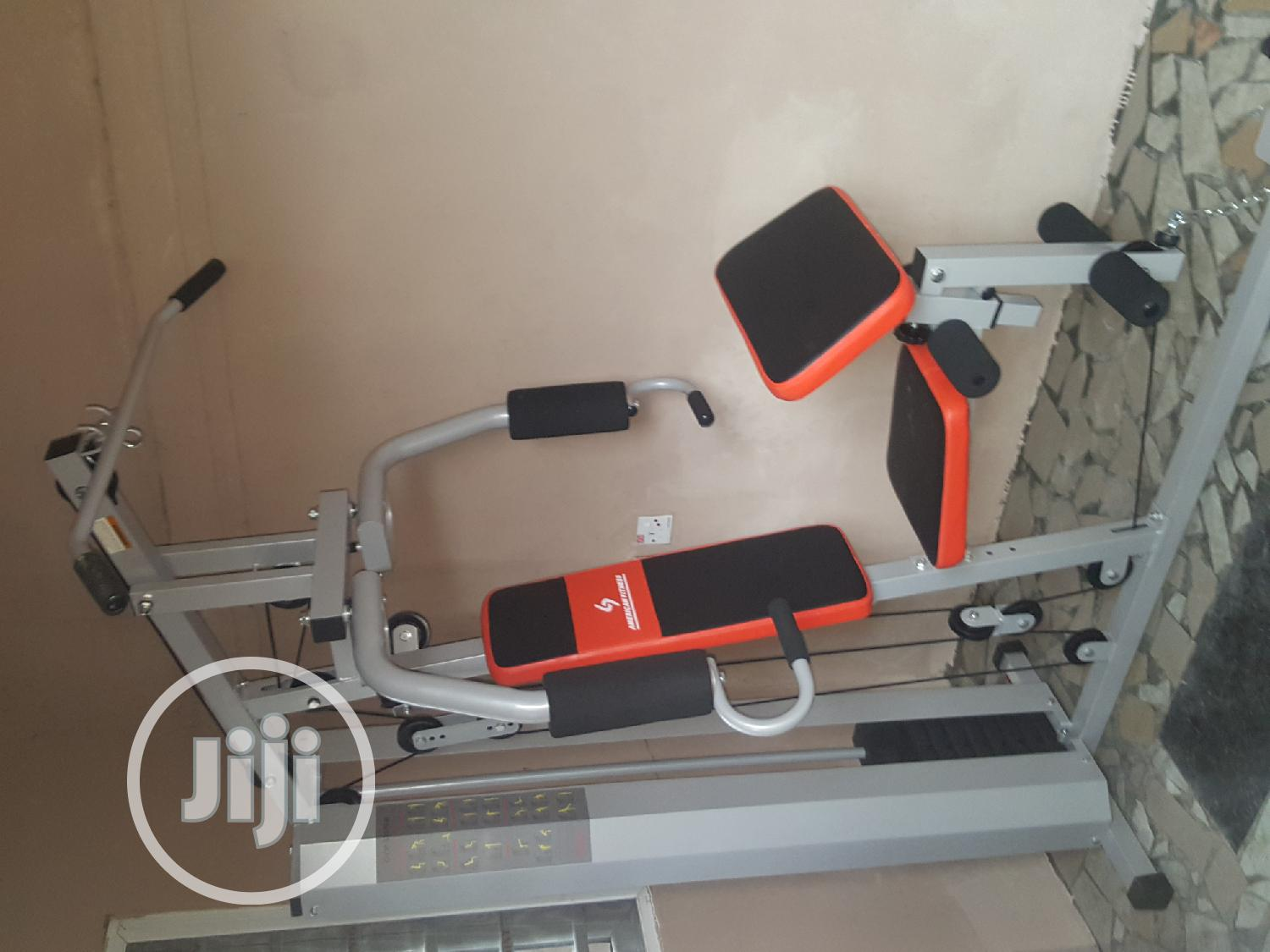 A Fitness Commercial Multi Gym