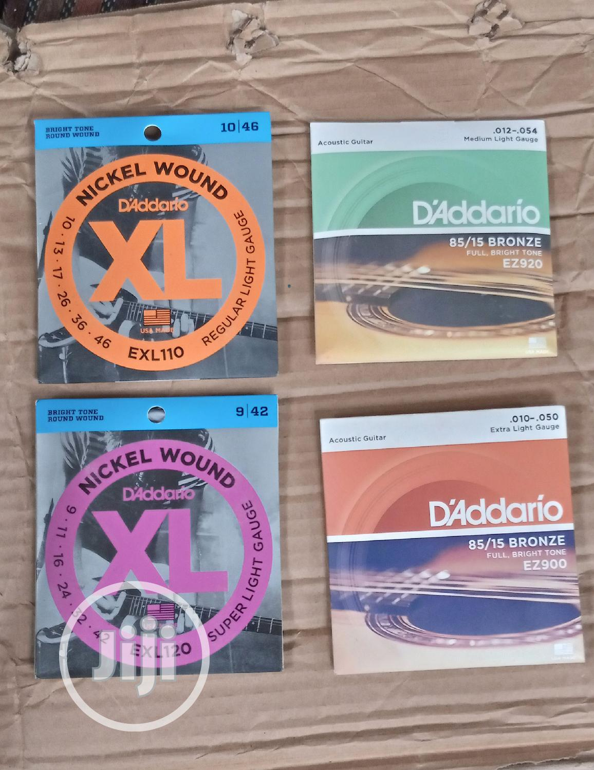 Daddario Guitar Strings Lead And Box | Musical Instruments & Gear for sale in Mushin, Lagos State, Nigeria