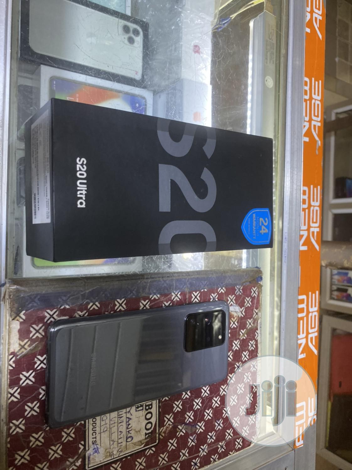 Samsung Galaxy S20 Ultra 128 GB Gray | Mobile Phones for sale in Wuse, Abuja (FCT) State, Nigeria