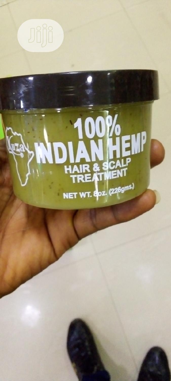 Kuza 100% Indian Hemp Hair And Scalp Treatment