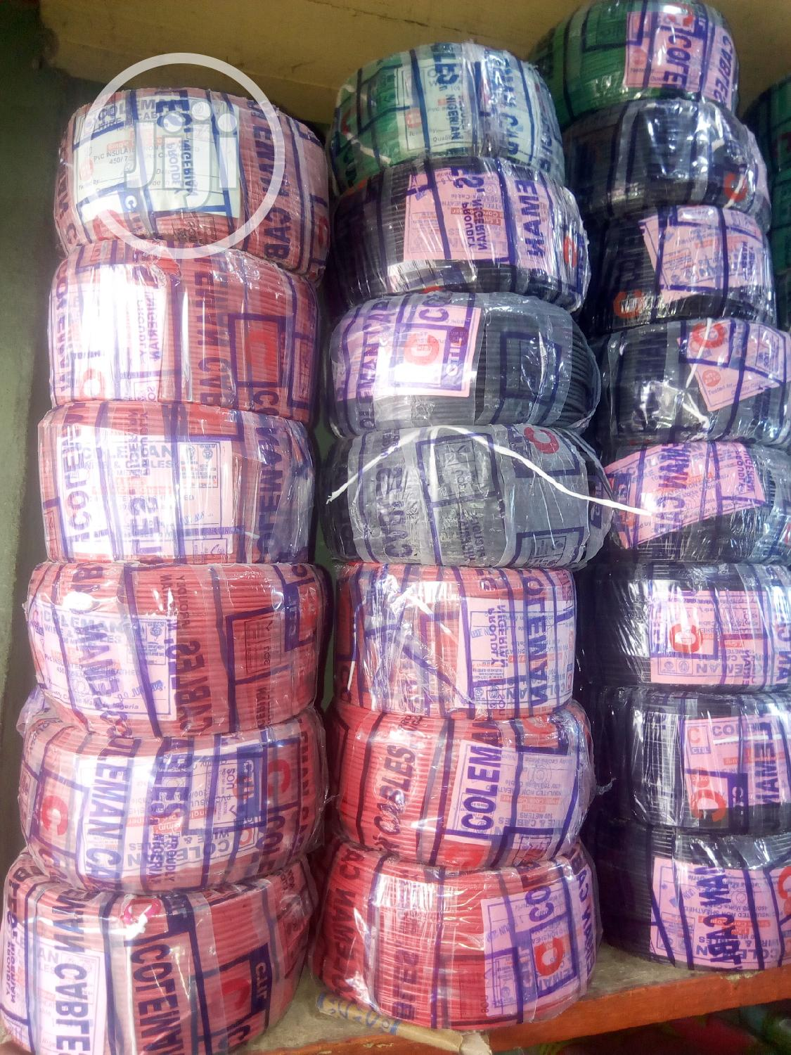 Pour Copper Of All Sizes Of Nigerian Cables In Stock, Coleman