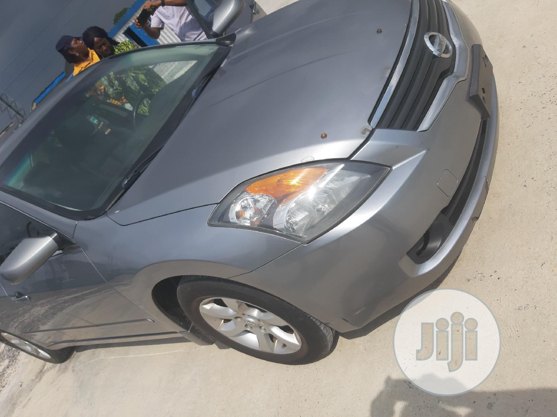 Archive: Nissan Altima 2008 2.5 S Silver