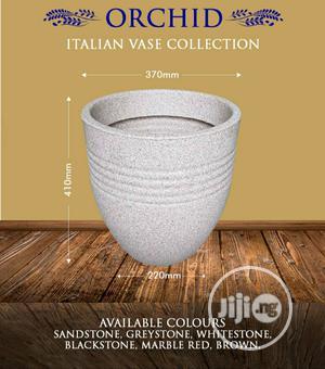 Orchid Italian Plastic Flower Vase   Home Accessories for sale in Lagos State, Ilupeju