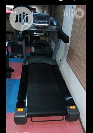 Body Fit 2hp Treadmill With Massager and Dumbbell | Sports Equipment for sale in Lagos State, Surulere