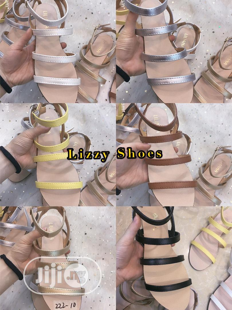 Flat Sandals for Ladies/Women Available in Different Sizes | Shoes for sale in Ikoyi, Lagos State, Nigeria