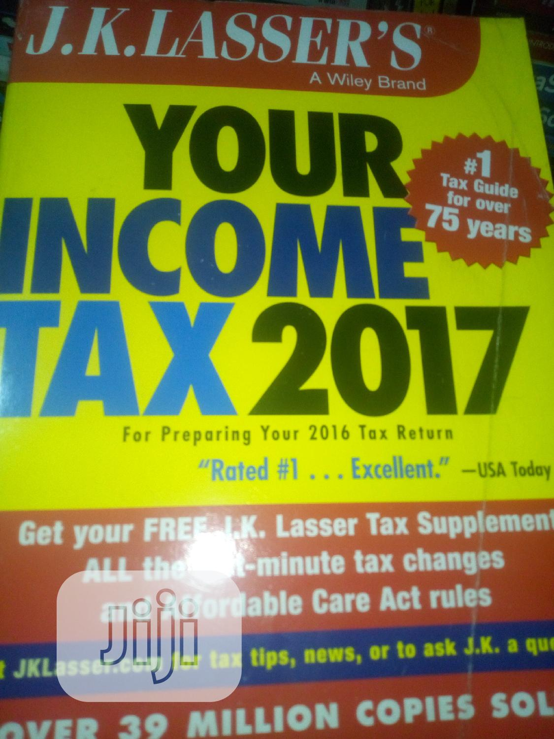 Archive: Your Income Tax 2017