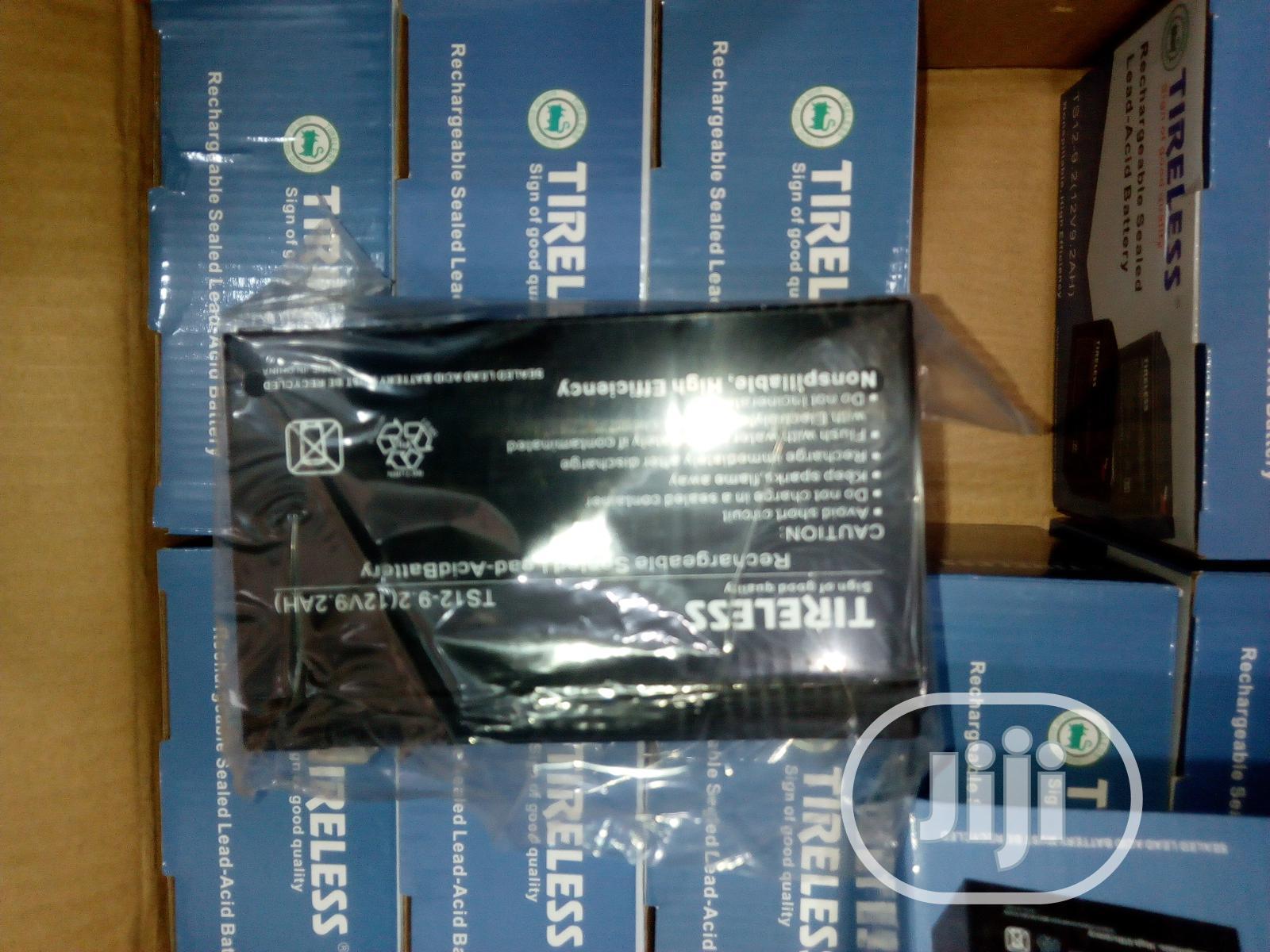 Tireless UPS Battery 9ah/12v | Computer Hardware for sale in Ikeja, Lagos State, Nigeria