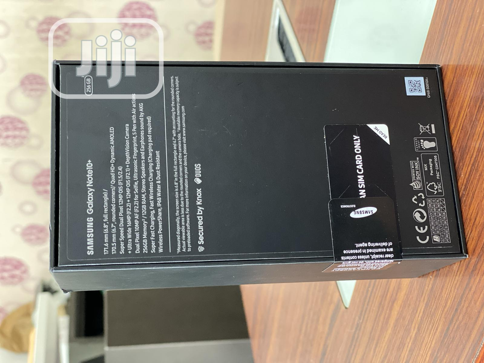 New Samsung Galaxy Note 10 Plus 256 GB | Mobile Phones for sale in Ikeja, Lagos State, Nigeria