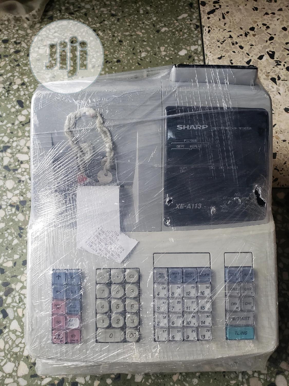 Archive: UK Used Sharp Cash Register