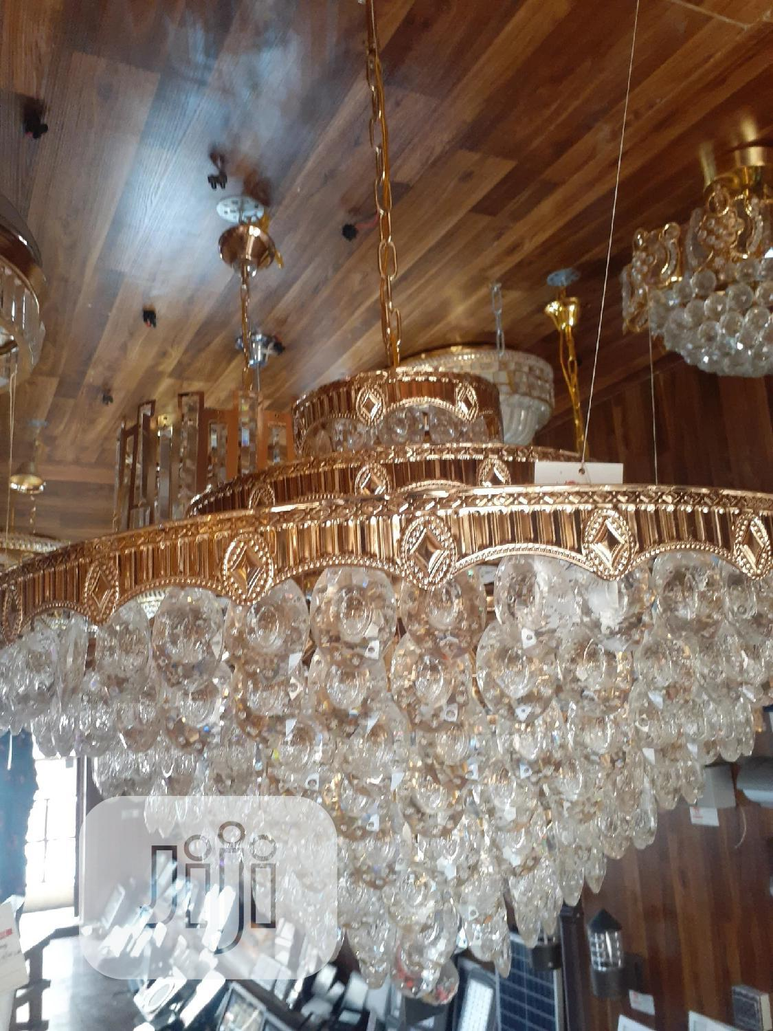 Chandelier Crystals Bulb And Let 4ft   Home Accessories for sale in Ojo, Lagos State, Nigeria