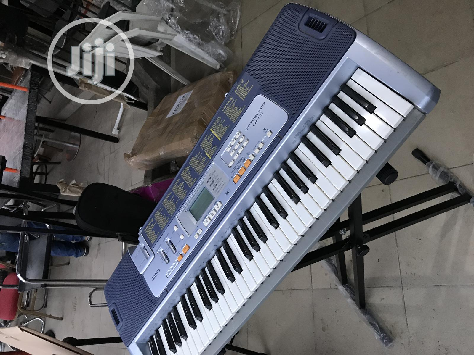 Uk Used Casio LK-110 5 Octaves Keyboard Piano | Musical Instruments & Gear for sale in Yaba, Lagos State, Nigeria
