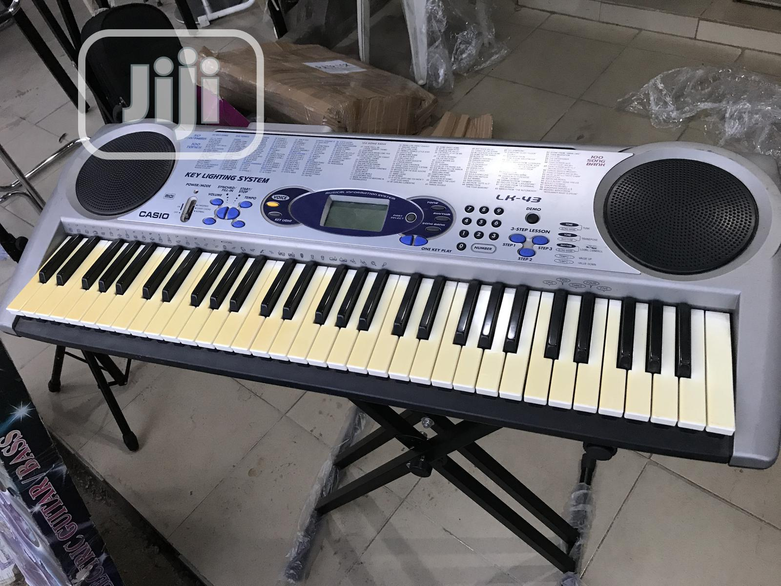 Uk Used Casio | Musical Instruments & Gear for sale in Yaba, Lagos State, Nigeria