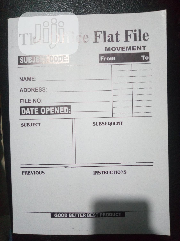 Archive: Buy Ur Office White Flat File