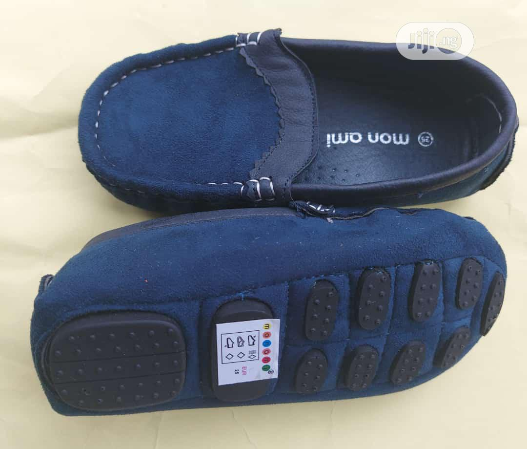 Baby Boy Blue Loafers