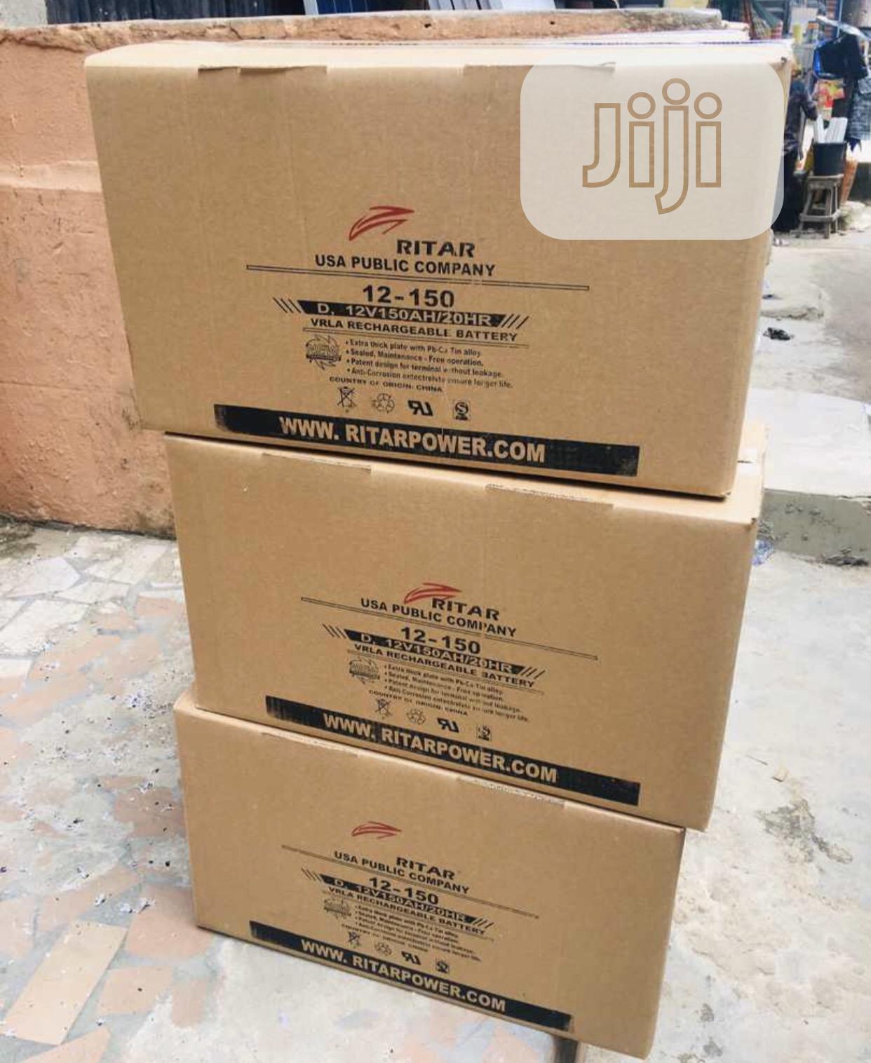Archive: Ritar Solar Battery 150ah