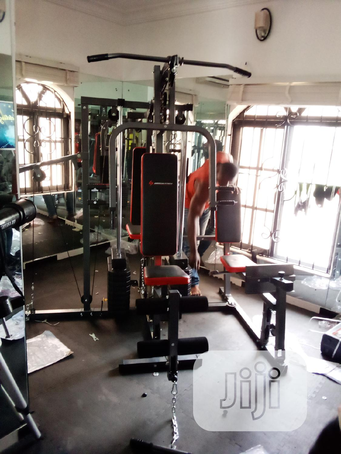 Archive: 4 Station Gym Equipment