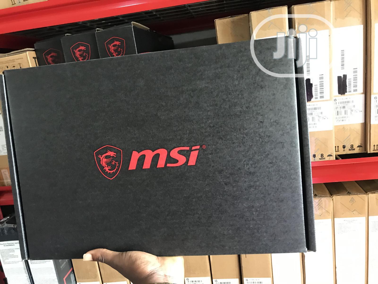 New Laptop MSI GF63 16GB Intel Core i7 SSD 512GB