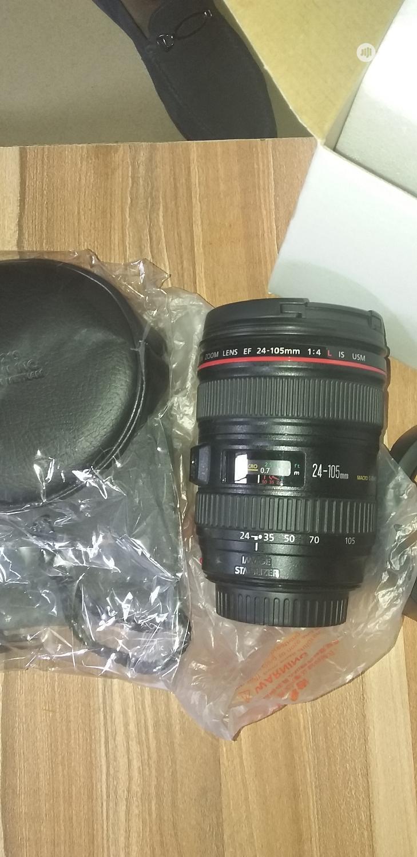 Canon 25-105mm Lens