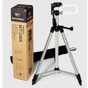 Aluminum Tripod Stand – Silver Weifeng Wt-330a   Accessories & Supplies for Electronics for sale in Lagos State, Alimosho