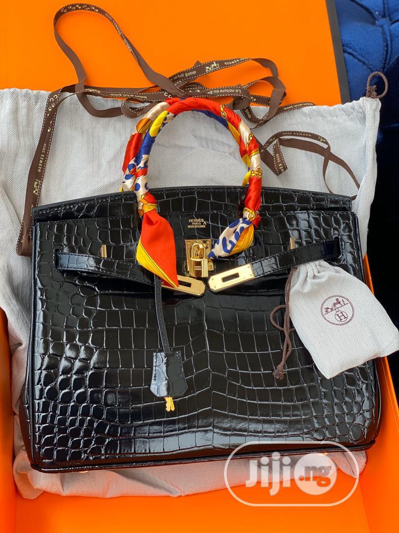 Hermes Crocodile Birkin 35cm Handbad. | Bags for sale in Magodo, Lagos State, Nigeria