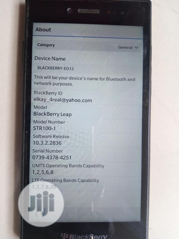 Archive: BlackBerry Leap 16 GB Black