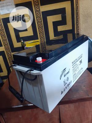 12v 150ah Rita Battery Available In Now Ifor Stock | Solar Energy for sale in Lagos State, Ojo