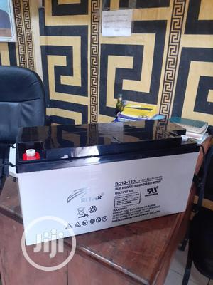 12v 150ah Rita Battery Available In Now | Solar Energy for sale in Lagos State, Ojo