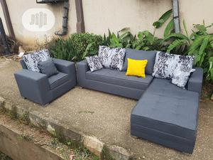 6 Sitters L Shape With Single | Furniture for sale in Lagos State, Ikorodu