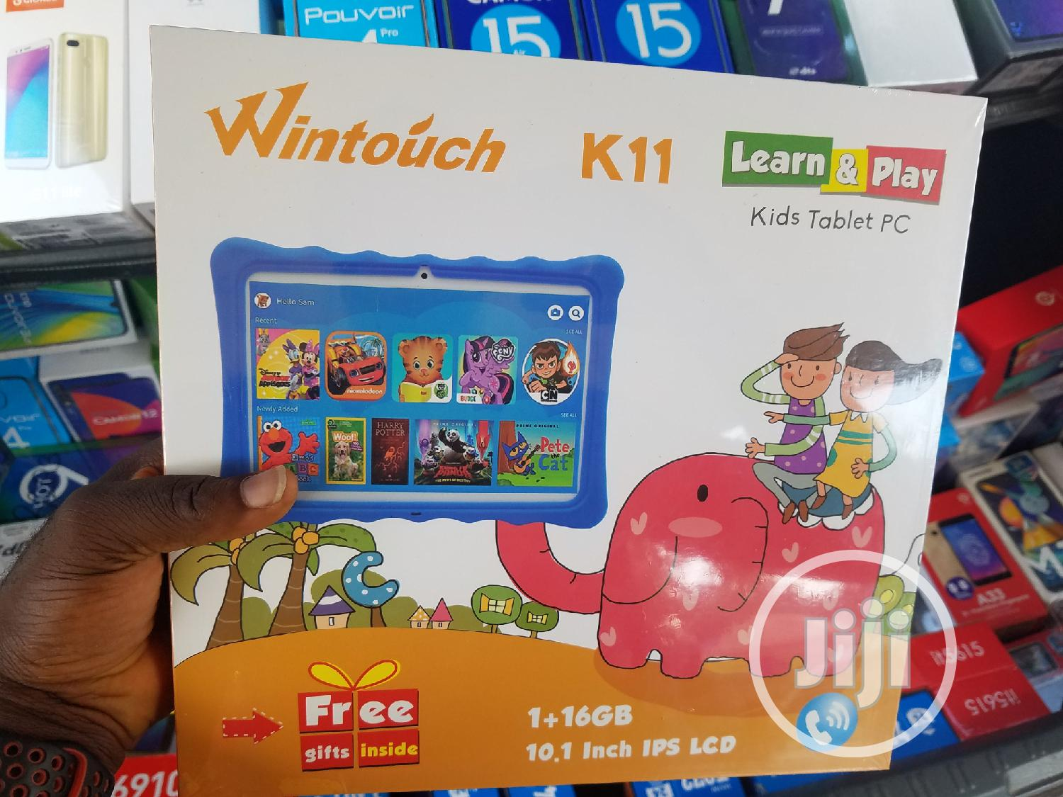 New Wintouch K11 16 GB Pink | Tablets for sale in Wuse, Abuja (FCT) State, Nigeria