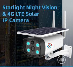 4G Sim Solar Powered Waterproof IP Camera | Security & Surveillance for sale in Lagos State, Ikeja