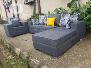 6 Sitters L Shape With Single | Furniture for sale in Lagos State, Ojo