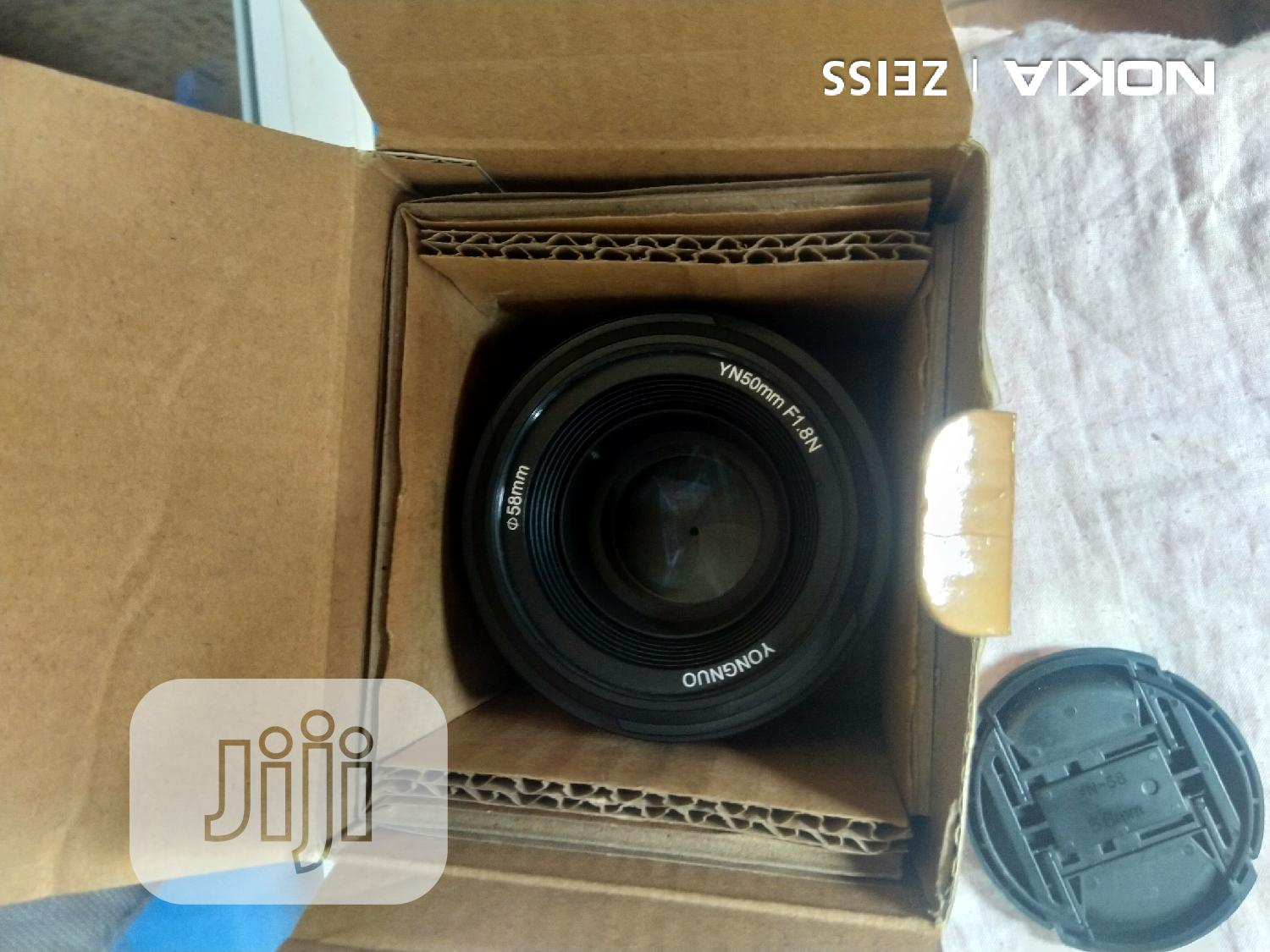 Nikon Lens 50mm | Accessories & Supplies for Electronics for sale in Ikeja, Lagos State, Nigeria