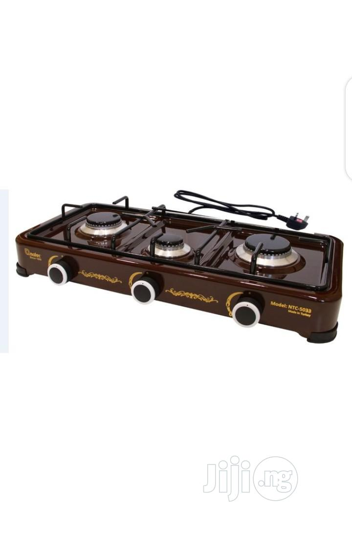 Nulec 3 Burner Auto Ignition Table-Top Gas Cooker
