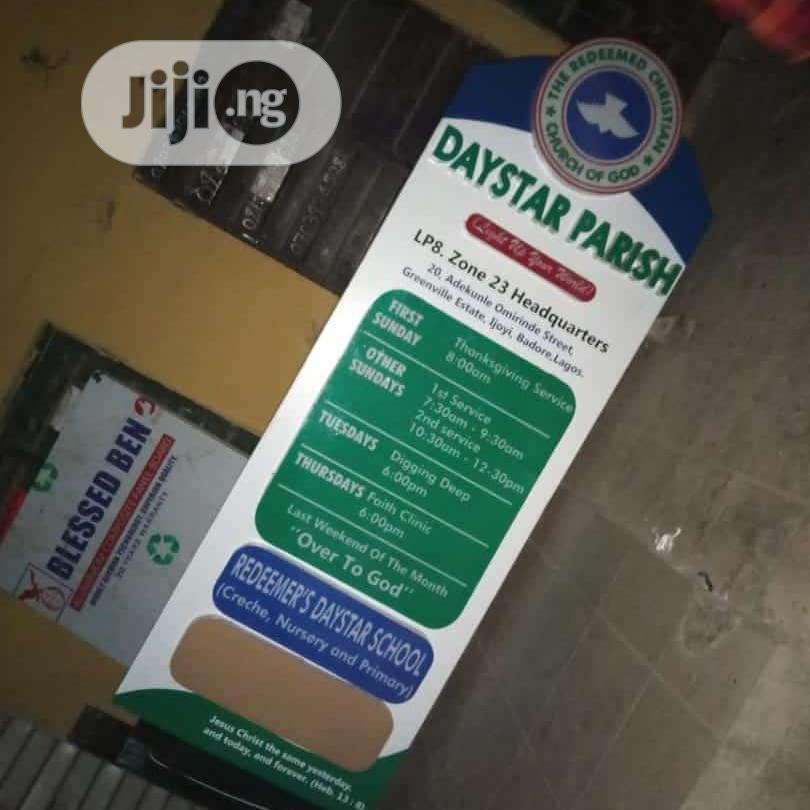 Pylon And Signage Production | Arts & Crafts for sale in Ikoyi, Lagos State, Nigeria