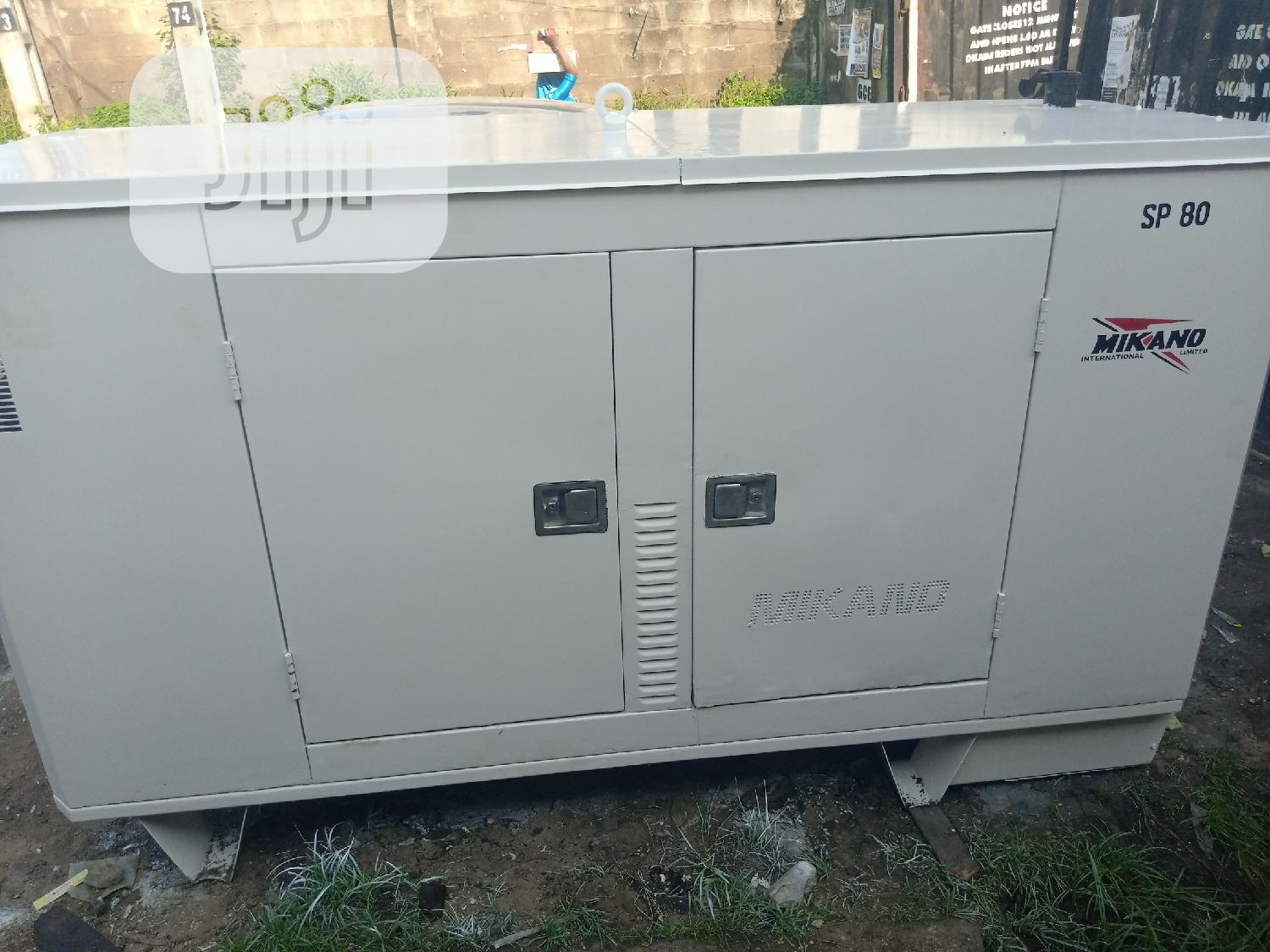 80 Kva Mikano Generator Perkins Silent Soundproof | Electrical Equipment for sale in Ikeja, Lagos State, Nigeria