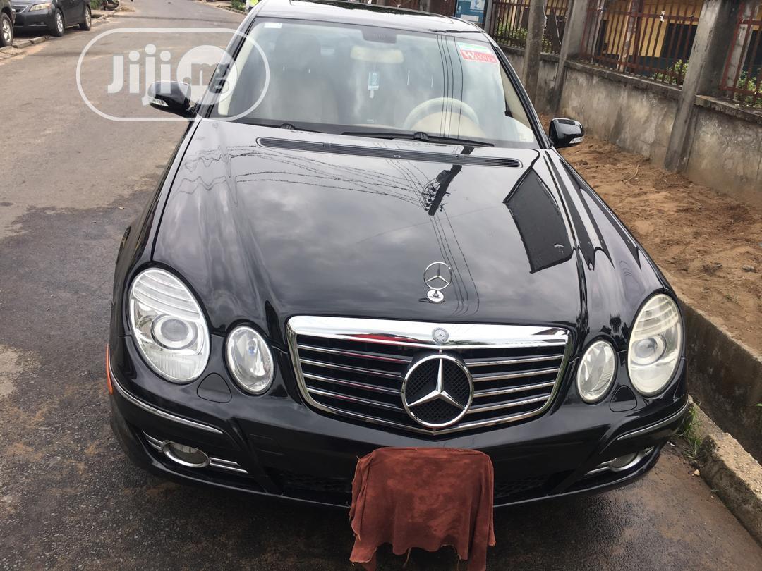 Archive: Mercedes-Benz E350 2007 Black