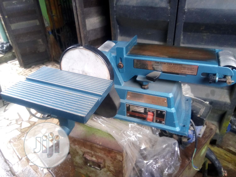 Sandpaper Machine