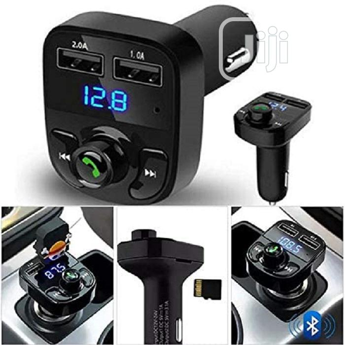Car-x8 Wireless Car FM Player, 1 USB Port Aux Cable Slot | Accessories & Supplies for Electronics for sale in Ikeja, Lagos State, Nigeria