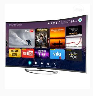 """Polystar 43"""" INCH CURVED SMART LED TV + Free Wall Bracket   TV & DVD Equipment for sale in Abuja (FCT) State, Jikwoyi"""