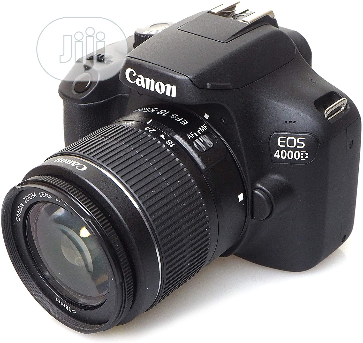 Canon 4000d Professional Camera for Sale