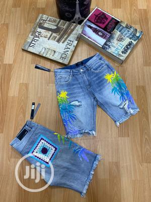 OFF-WHITE Short Jeans for Men | Clothing for sale in Lagos State, Magodo