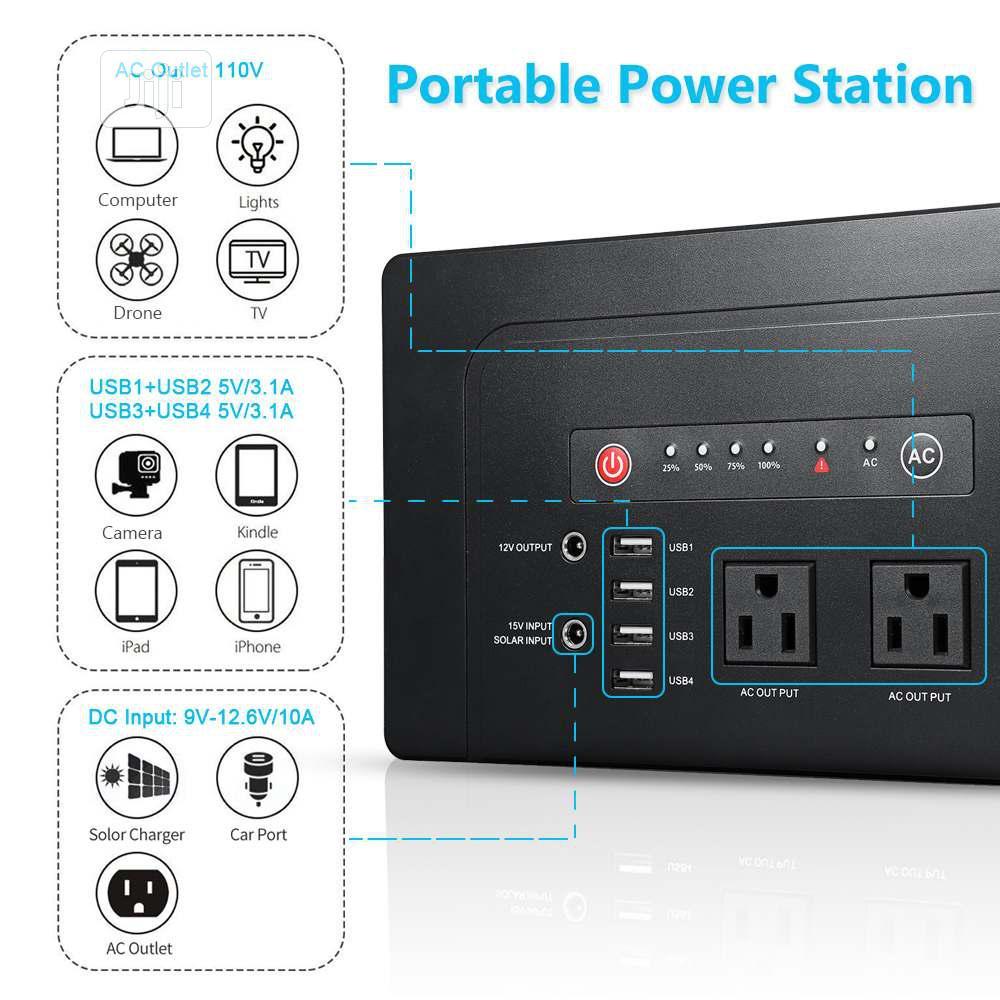 Archive: Portable Power Bank Sine Wave Solar Generator