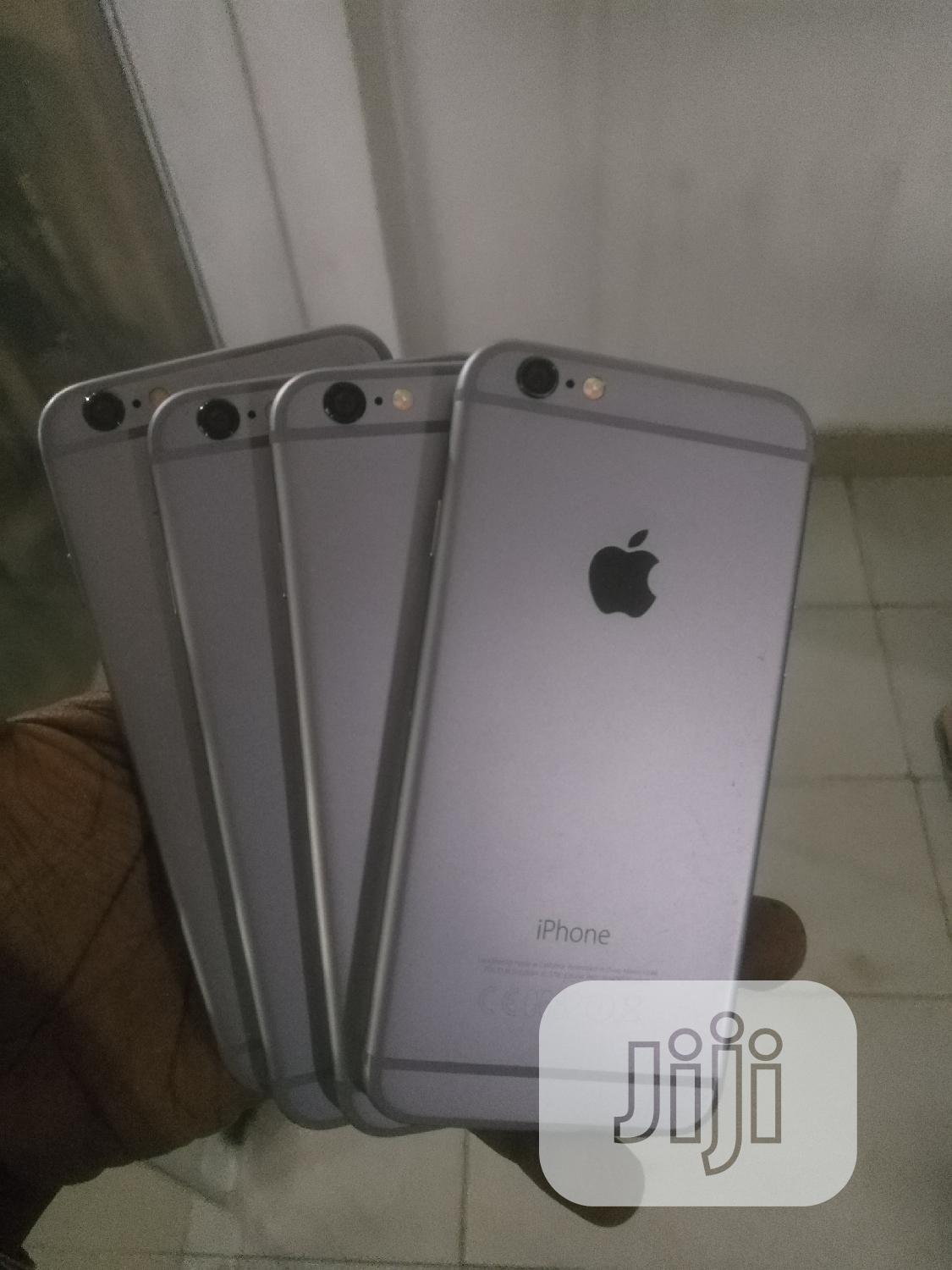 Apple iPhone 6 16 GB Silver   Mobile Phones for sale in Ikeja, Lagos State, Nigeria