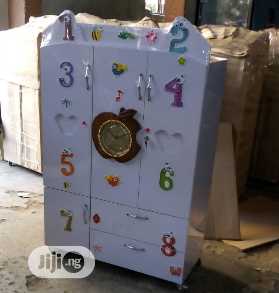 Archive: Baby Wooden Wardrobe