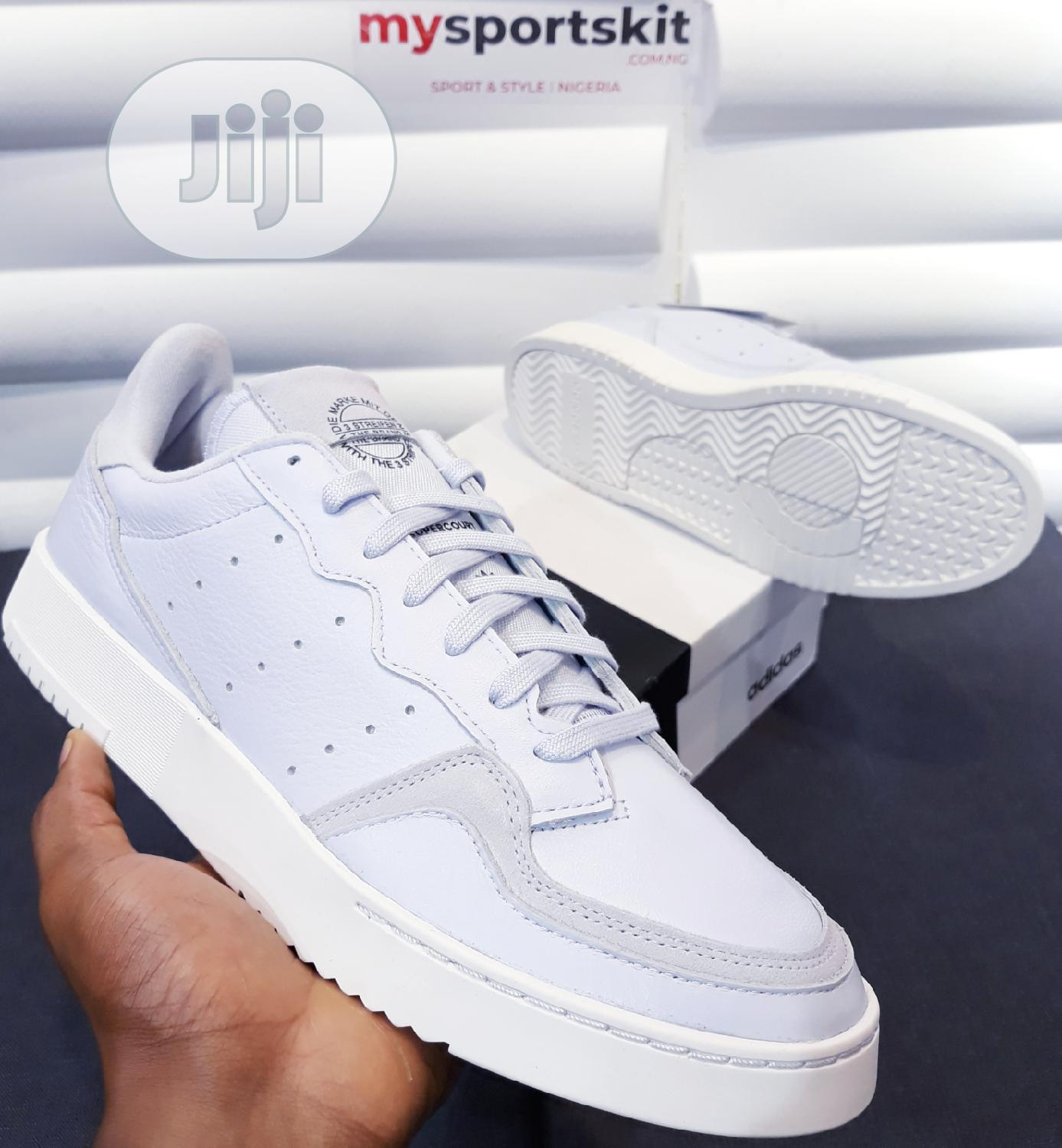 Authentic Adidas Supercourt All Leather