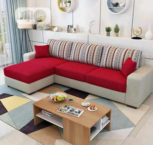 Set Of L-shaped Sofa With A Center Table | Furniture for sale in Lagos State, Ojodu