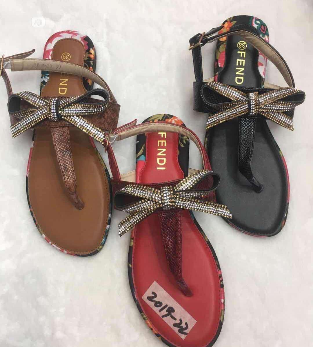 Fendi Ladies Sandals